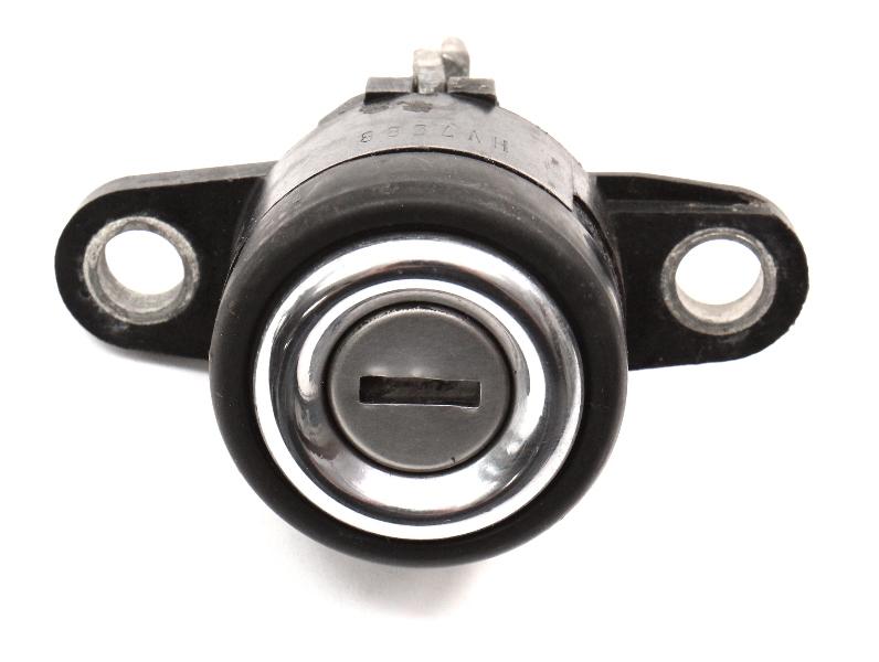 Trunk Lock Cylinder 81-93 VW Cabriolet Rabbit Convertible MK1 - Genuine