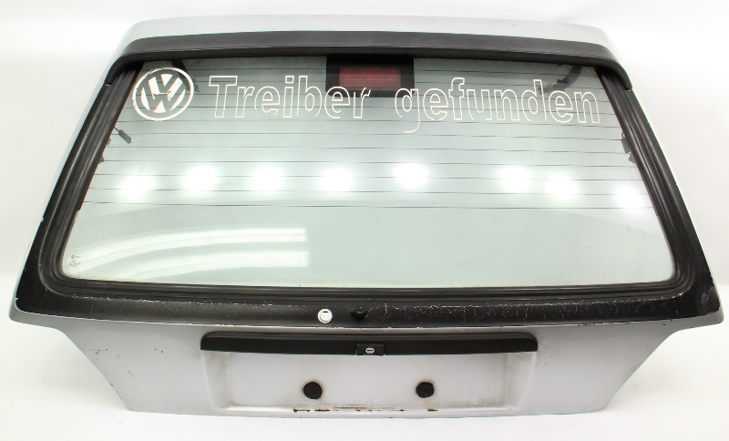 Hatch Back Tail Gate Trunk Door 85-92 VW Golf GTI MK2 Silver - Genuine