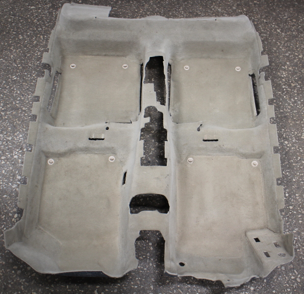 Interior Floor Carpet 99-05 VW Jetta Golf Beige MK4 Genuine 1J1 863 367 AG
