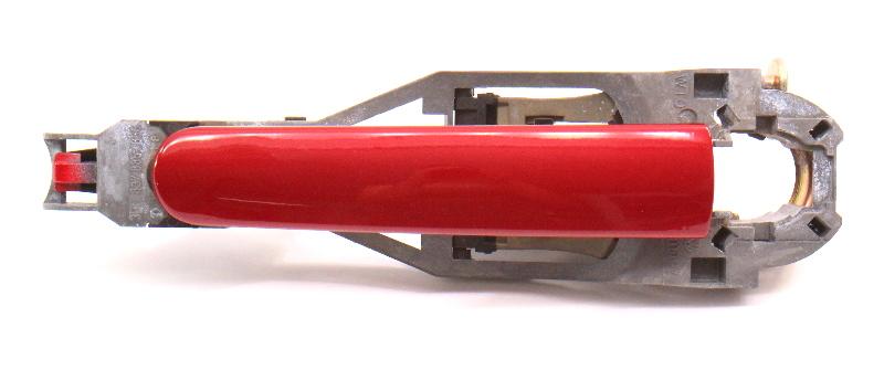 Exterior Door Handle 98-05 VW Passat B5 Jetta Golf MK4 LA3W Red 3B0 837 885 886