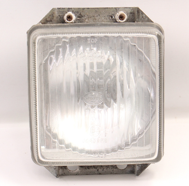 LH Square Inner Headlight 86-91 VW Vanagon T3 Head Light Lamp ~ Genuine Hella
