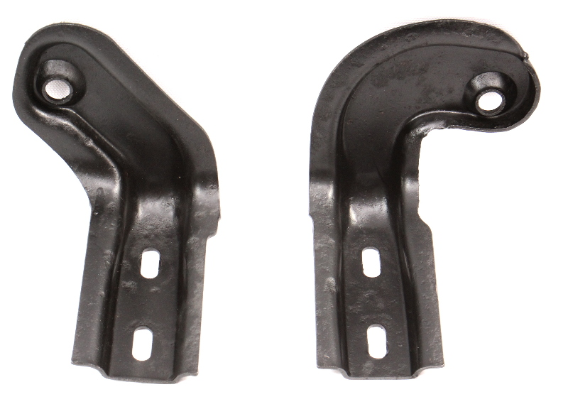 Lower Radiator Mount Brackets 83-91 VW Vanagon T3 Westfalia - Genuine