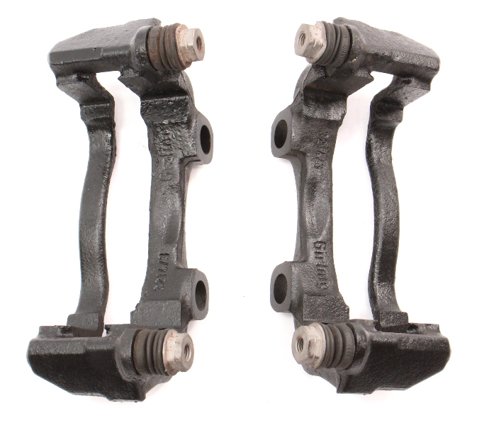 Front Brake Caliper Carrier Brackets 86-91 VW Vanagon T3 - Genuine