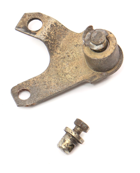 Throttle Gas Pedal Linkage Bracket 80-91 VW Vanagon T3 - Genuine