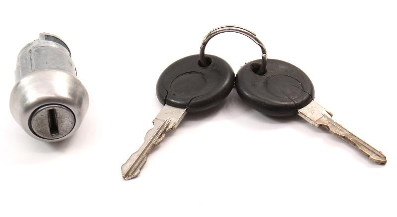 Ignition Tumbler Lock Cylinder & Keys Set 93-99 VW Jetta MK3 Passat B3 B4