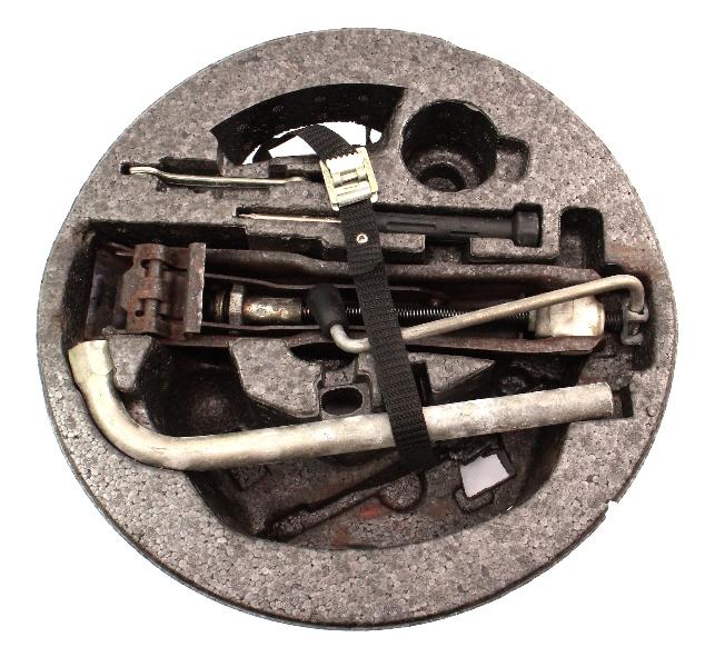 Trunk Jack Spare Tire Lug Wrench Tool Kit Set 90-97 VW Passat B3 B4 ~ Genuine