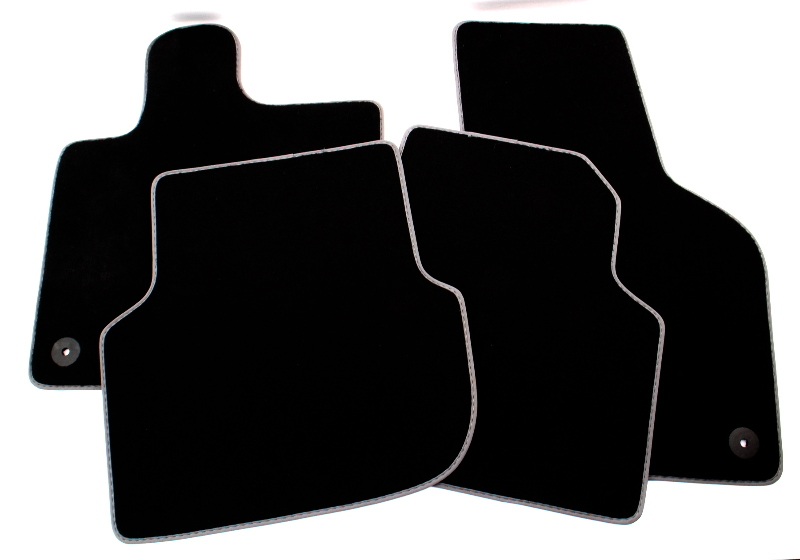 NOS Carpet Floor Mats Set 11-18 VW Jetta GLI MK6 Sedan - Genuine - 567 863 011 E