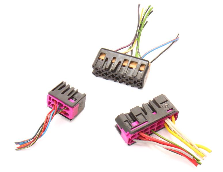 Turn Wiper Cruise Stalk Switch Wiring Plug Pigtails 95-98 Audi A4 B5 A6 S6