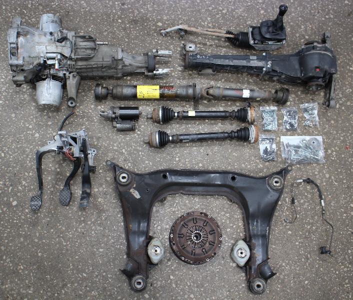 Manual Transmission Swap Parts Kit 96-02 Audi A4 B5 V6 Quattro DJP
