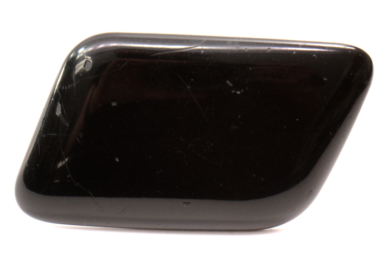 LH Headlight Washer Cover Cap 96-01 Audi A4 S4 B5 Head Lamp Light Sprayer Black