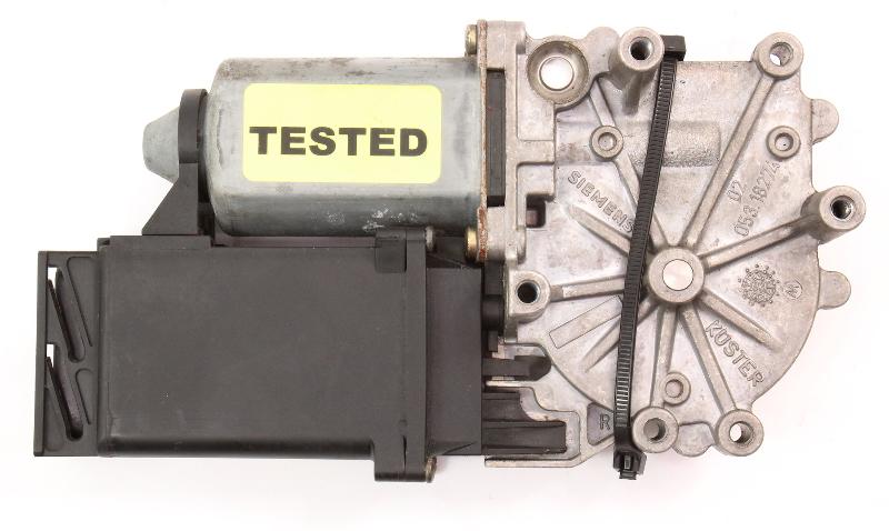 LH Rear Window Motor 95-97 VW Passat B4 - Genuine - 3A0 959 809