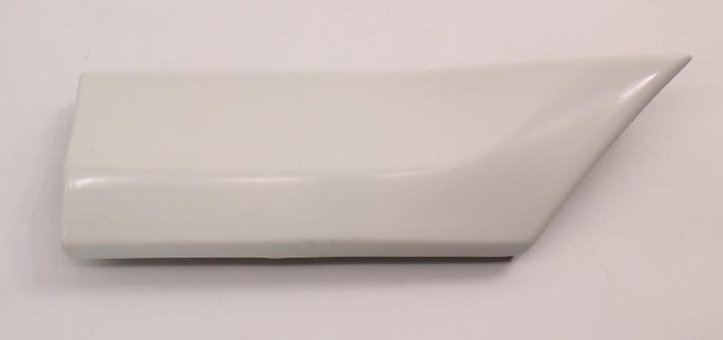 RH Front Small Fender Molding Trim 95-97 VW Passat B4 LB9A White - 3A0 853 518 A