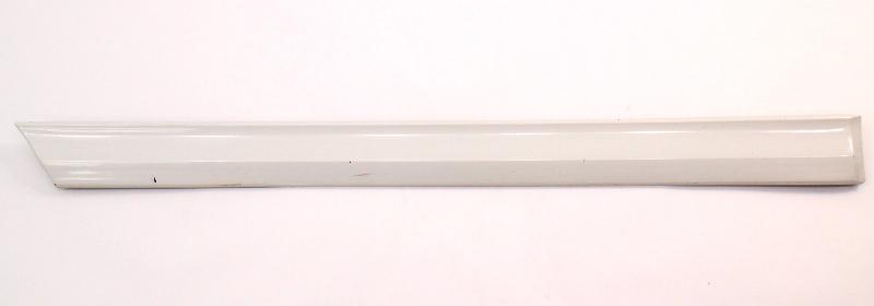 RH Rear Door Molding Trim 95-97 VW Passat B4 LB9A White - 3A0 853 754 A