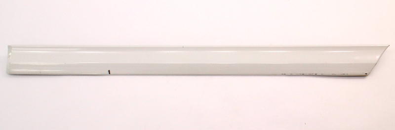 LH Rear Door Molding Trim 95-97 VW Passat B4 LB9A White - 3A0 853 753 A