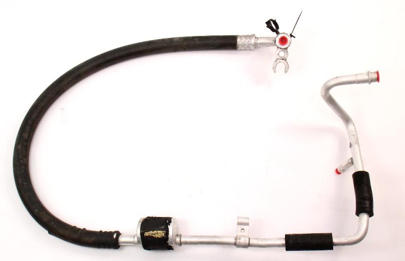 AC Line A/C Hose Fitting 92-97 VW Passat B3 B4 VR6 - Genuine - 3A1 820 743 E