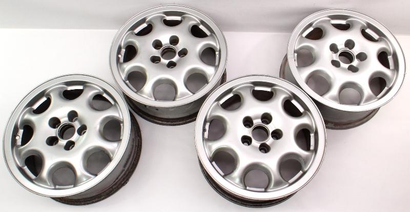 "Set of 4 Stock BBS 15"" Alloy Wheel Rims 95-97 VW Passat B4 5x100 VR6 GTI MK3"