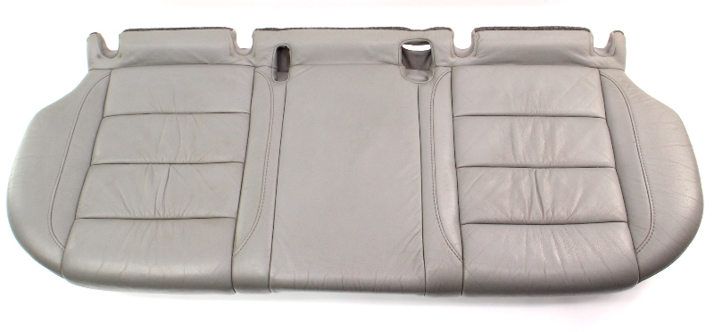 Rear Back Bench Seat Lower Cushion 05-10 VW Jetta MK5 Art Grey Leather - Genuine