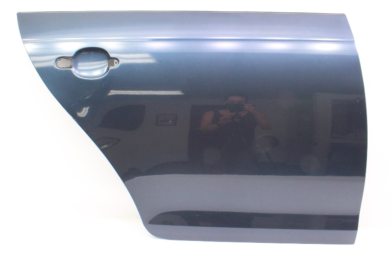 RH Rear Door Shell Skin 05-10 VW Jetta & Sportwagen MK5 MK6 LC5F Blue - Genuine