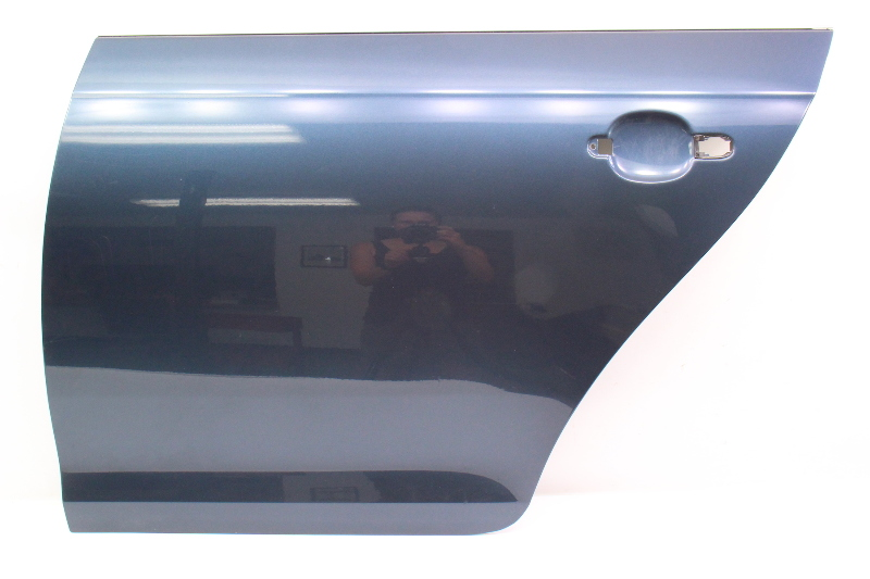 LH Rear Door Shell Skin 05-10 VW Jetta & Sportwagen MK5 MK6 LC5F Blue - Genuine