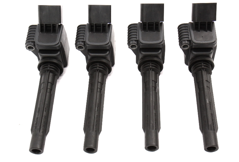 4x Ignition Coil & Boot VW Jetta MK6 Audi TT Beetle Passat Genuine 06K 905 110 D