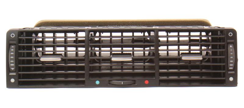 Center Dash Vent 00-03 Audi A8 S8 D2 Black - Genuine - 4D0 820 951 J
