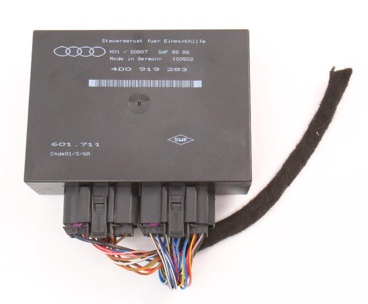 Park Assist Module Parking Computer 00-03 Audi A8 S8 D2 Genuine - 4D0 919 283
