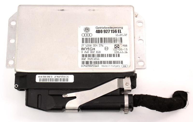 TCM Transmission Computer 02-03 Audi A8 S8 D2 - Genuine - 4D0 927 156 EL