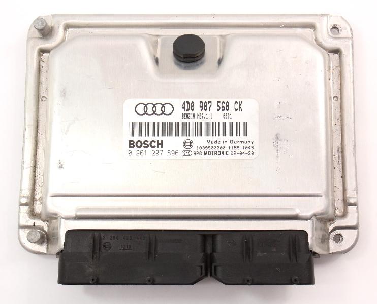 ECU ECM Engine Computer 02-03 Audi A8 S8 D2 - 4D0 907 560 CK