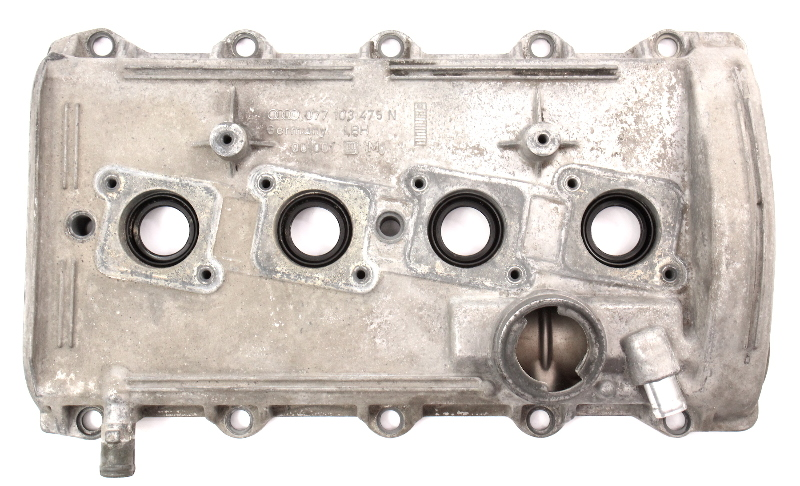 LH Valve Cover Audi A6 S6 C5 A8 S8 D2 Touareg 4.2 V8 - Genuine - 077 103 475 N