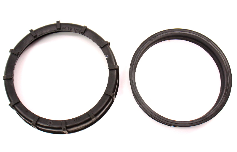 Fuel Pump Lock Rings Set 97-03 Audi A8 S8 D2 - Genuine - 4D0 201 375 A