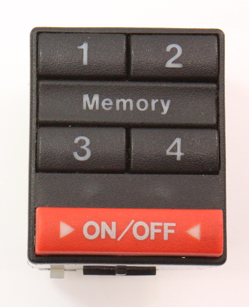 Power Memory Seat Switch Controls Audi 100 A8 - Genuine - 893 959 769