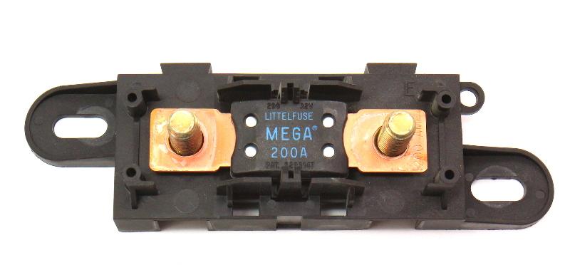 Main Mega Fuse 200AMP  & Holder 00-03 Audi A8 S8 D2 - Genuine