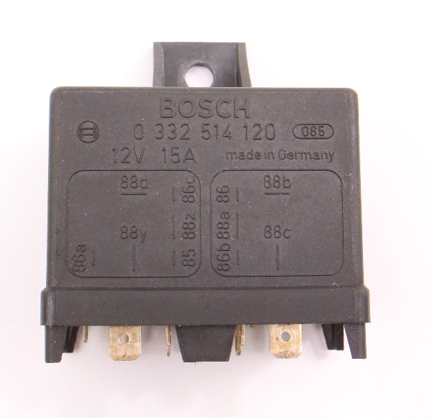 Bosch Multi Purpose Relay VW Beetle Bus Bug Porsche Renault 0332514120