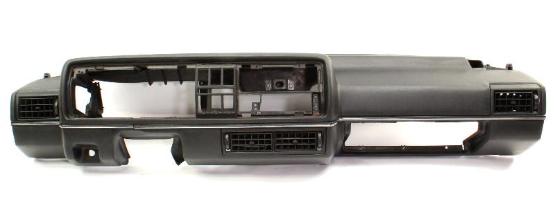 Black Early Dashboard Dash 85-87 VW Jetta Golf GTI Mk2 - Genuine - 176 857 091