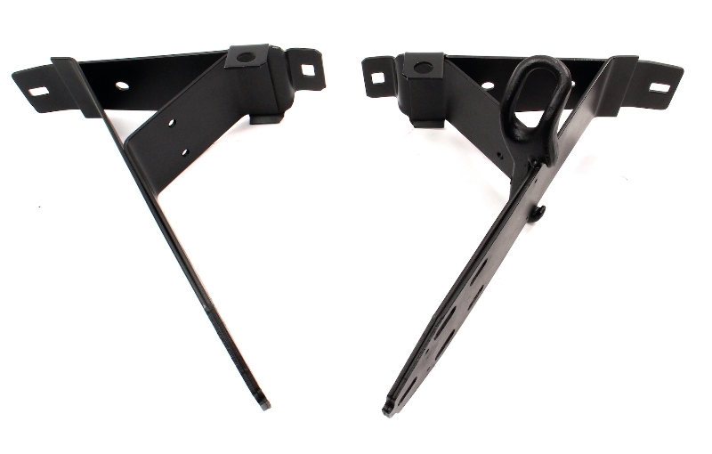Rear Bumper Mount Bracket 68-73 VW Super Beetle Bug Aircooled - 113 707 323