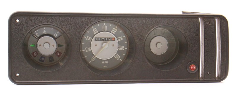 Gauge Cluster Speedometer 1972 VW Bus Transporter Bay Window T2 - 211 957 023 G