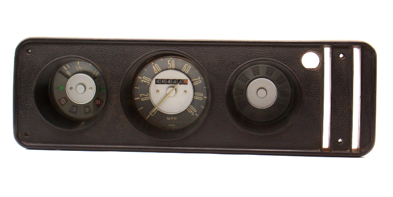 Gauge Cluster Speedometer 1970 VW Bus Transporter Bay Window T2 ~ 211 957 023 G