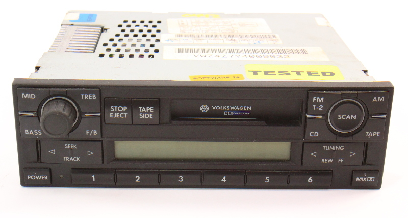 Premium 5 Radio Head Unit VW Jetta Golf Cabrio Passat MK4 B5 ~ 1J0 035 180 B ~
