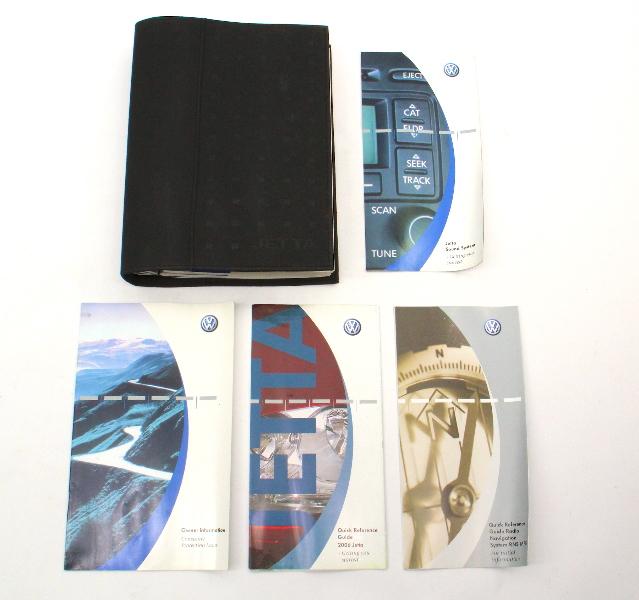 Owners Manual Operations Book 06 2006 VW Jetta MK5 - Genuine