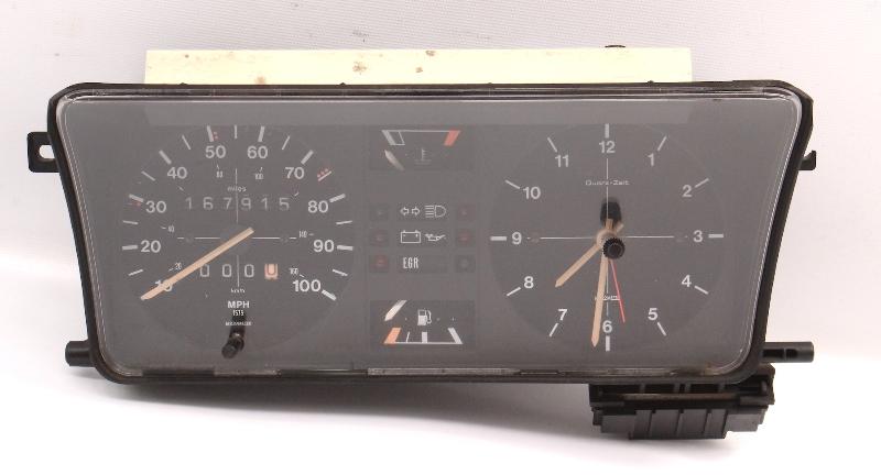 Gauge Instrument Cluster 1977 VW Dasher Speedometer MotoMeter 1575