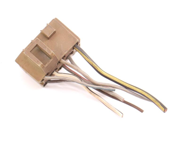 Headlight Switch Wiring Plug Pigtail 81-84 VW Jetta Rabbit MK1 - 175 971 999 E