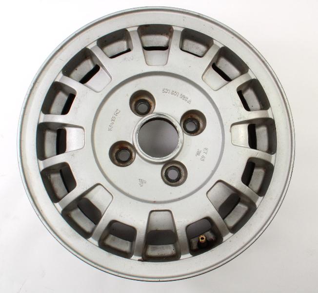 """13""""x5"""" Alloy Wheel Rim 4x100 75-84 VW Rabbit Jetta Scirocco MK1 . 531 601 025 A"""