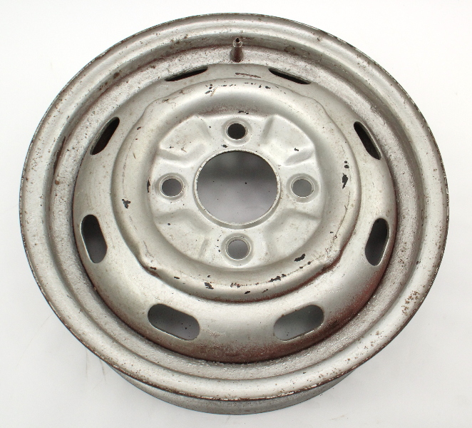 "15"" x 4.5 Steel Wheel Rim 68-79 VW Beetle Ghia Type 3 411 Aircooled ET41 Genuine"