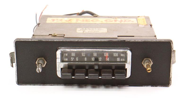 Audiovox C-525A Old School Vintage Car Radio Head Unit VW MG BMW