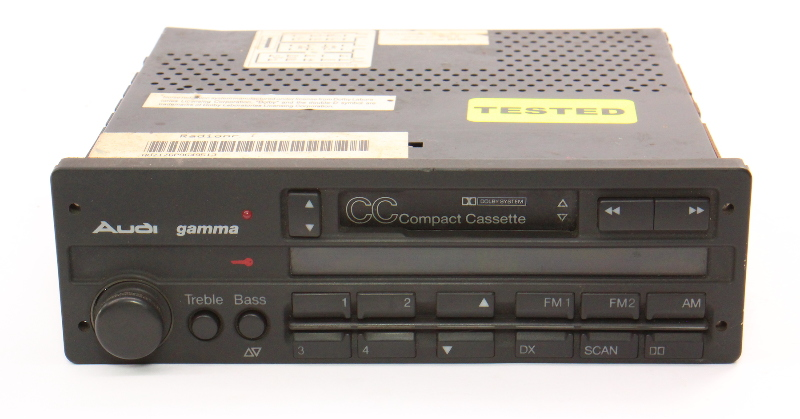 Audi Gamma Tape Radio Head Unit 92-95 A6 S6 Cabriolet 90 100 - 4A0 035 093