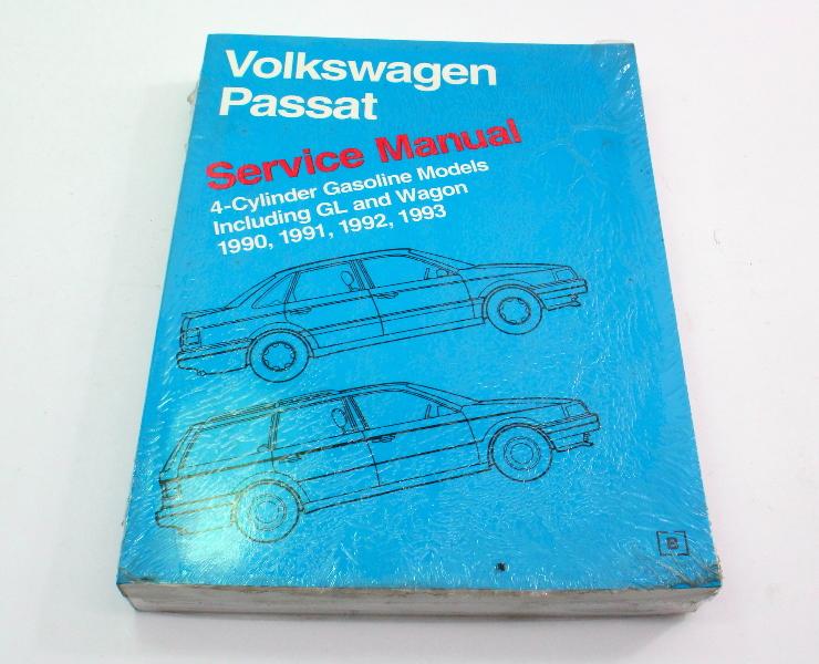 Official Bentley Repair Service Manual Book 90-93 VW Passat B3 4 Cylinder VP93