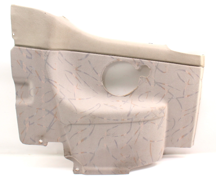 LH Rear Interior Back Side Door Panel 1995 VW Cabrio MK3 - Beige - 1E0 867 043