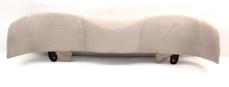 Rear Seat Head Rest Headrest 95-99 VW Cabrio MK3 Light Beige Cloth - 1E0 885 915