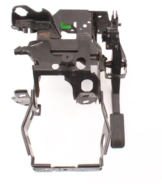Transmission Pedal Cluster Brake Gas Bracket 93-99 VW Jetta Golf GTI Cabrio MK3