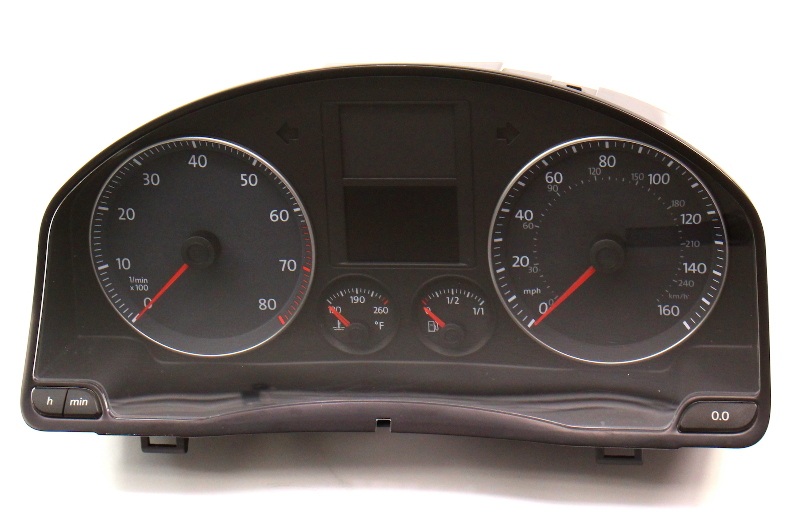 Gauge Cluster 08-09 VW Jetta MK5 2.5 Speedometer - 1K0 920 954 Q